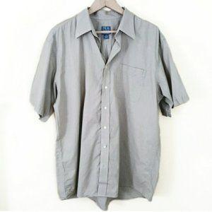 3/$30 // Stays Cool Tan Cotton Men's Shirt